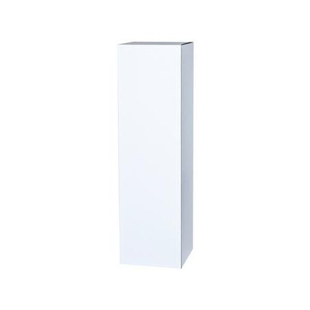 Podie af karton, hvid 30 x 30 x 60 cm (lxbx)