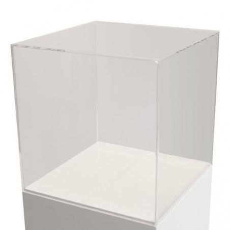 montre af plexiglas 50 x 50 x 50 cm (LxBxH)
