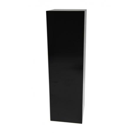 Solits podie sort højglans 40 x 40 x 100 cm