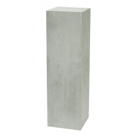 Solits podie beton look 30 x 30 x 100 cm