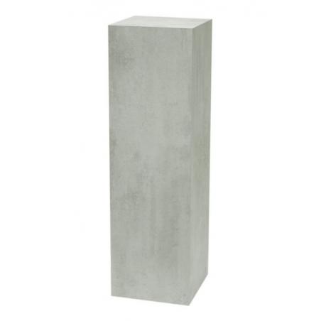 Solits podie beton look 60 x 60 x 100 cm