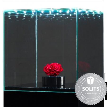 Montre med intgreret LED belysning 30 x 30 x 30 cm