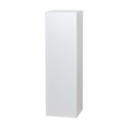 Solits podie hvid, 20 x 20 x 60 cm (LxBxH)