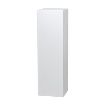 Solits podie hvid, 30 x 30 x 60 cm (lxbxh)