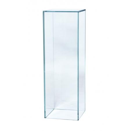Podie af glas 20 x 20 x 100 cm