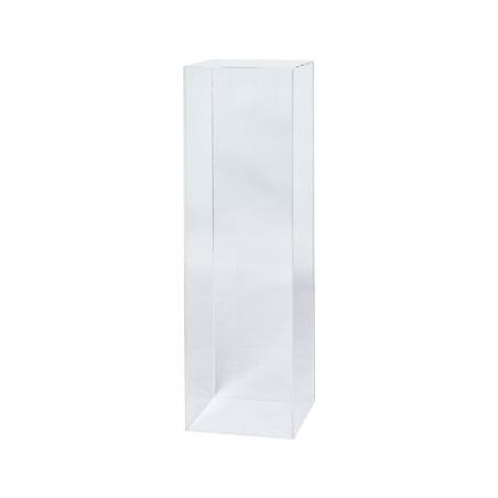 Podie af plexiglas 35 x 35 x 100 cm