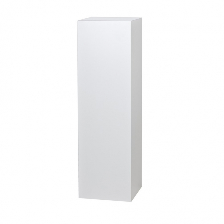 Solits podie hvid højglans 40 x 40 x 100 cm