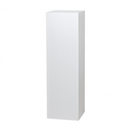Solits podie hvid højglans, 50 x 50 x 100 cm (l x b x h)