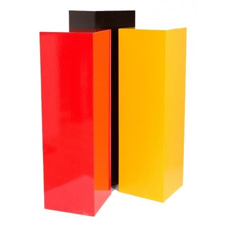 Solits podie i farve, 30 x 30 x 100 cm (LxBxH)