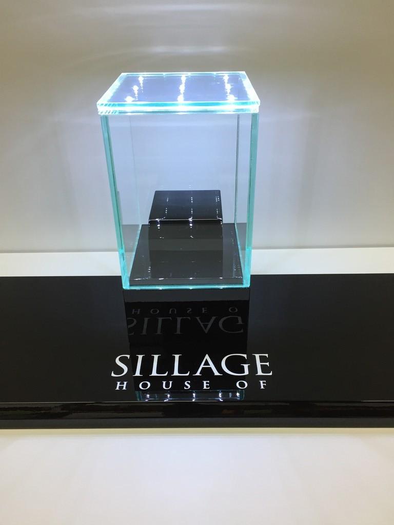 Mini montre med glas inkl. led